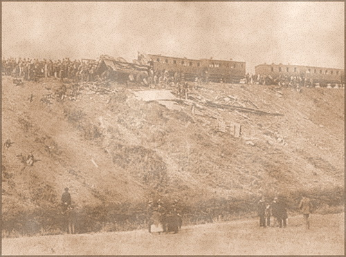 The Armagh Rail Disaster of 1889