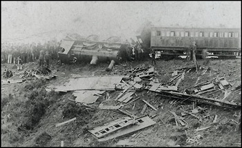 Armagh Rail disaster 1889