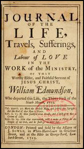 William Edmundson's Journal