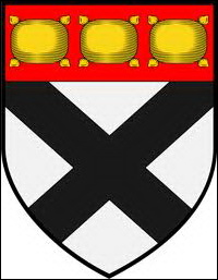 The Johnston cote of arms