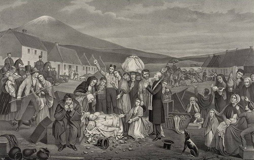 Tennant Evictions during the Irish Land War