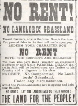 Notice of rent strike