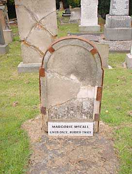 The Grave of Marjorie McCall