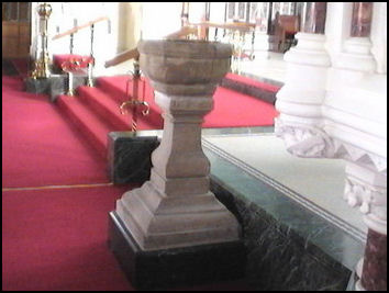The Font in Shankill Parish Church